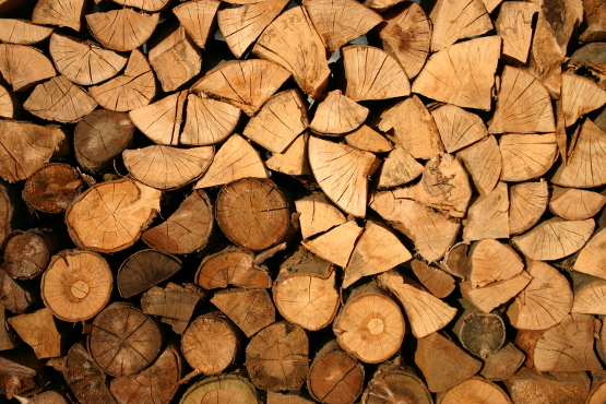 Staked wood
