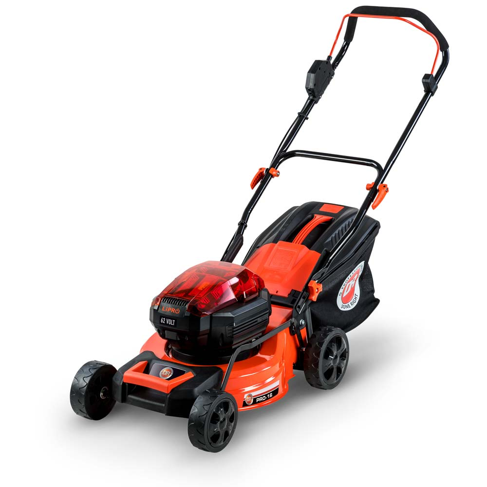 DR 62V Battery-Powered Lawn Mower PRO-16