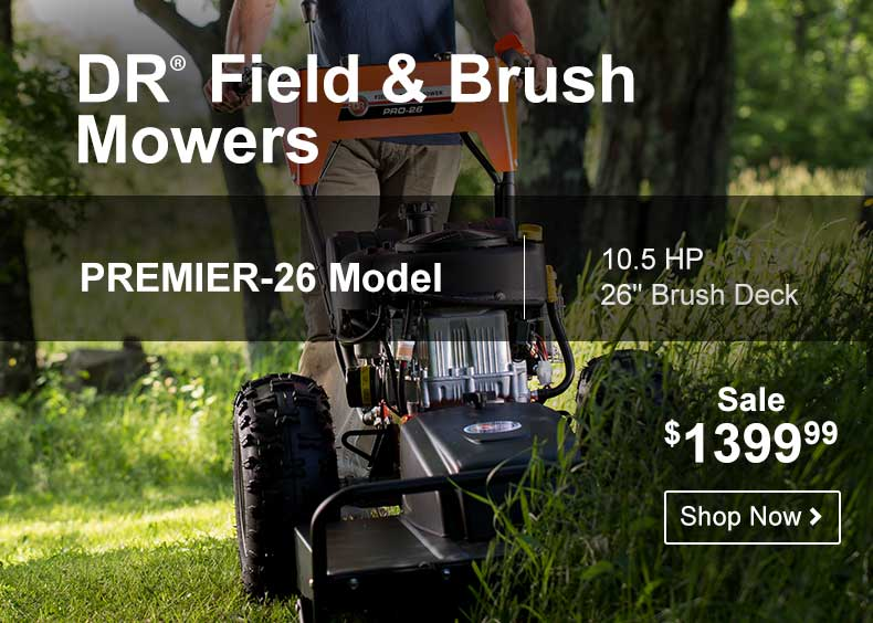 DR Field Brush Mowers