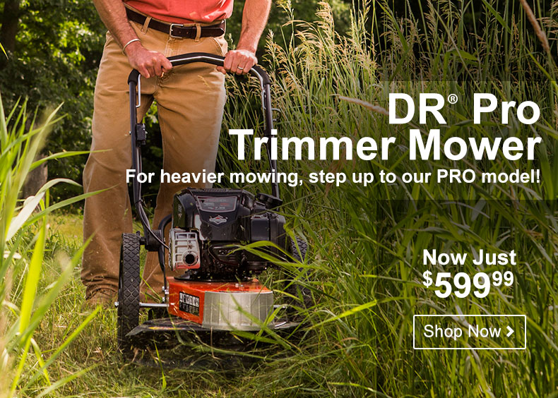DR Pro Trimmer Mower