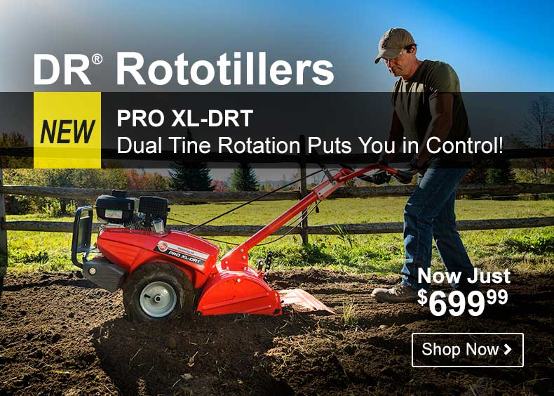 DR Rototillers