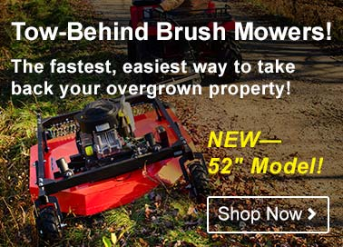 DR Tow Behind Brush Mowers