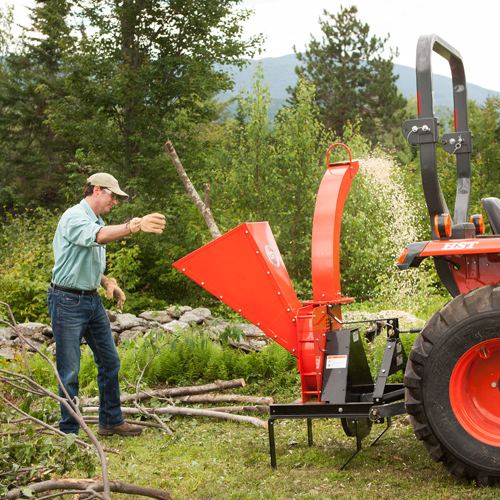 DR PTO Wood Chipper - Country Home Sales