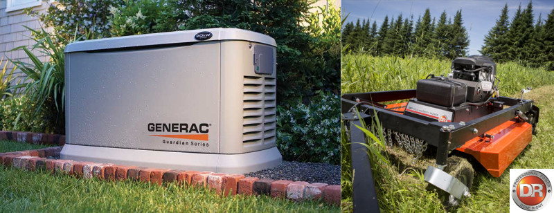Generac and Dr Equipment