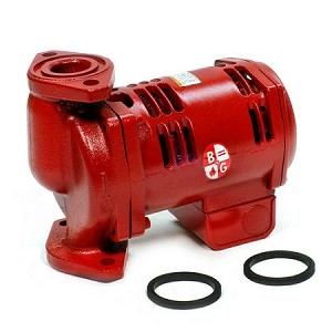 Cast Iron Booster Pump Back Angle 1