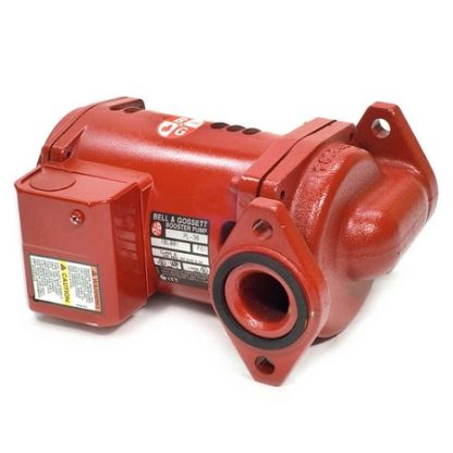 Cast Iron Booster Pump Back Angle 2