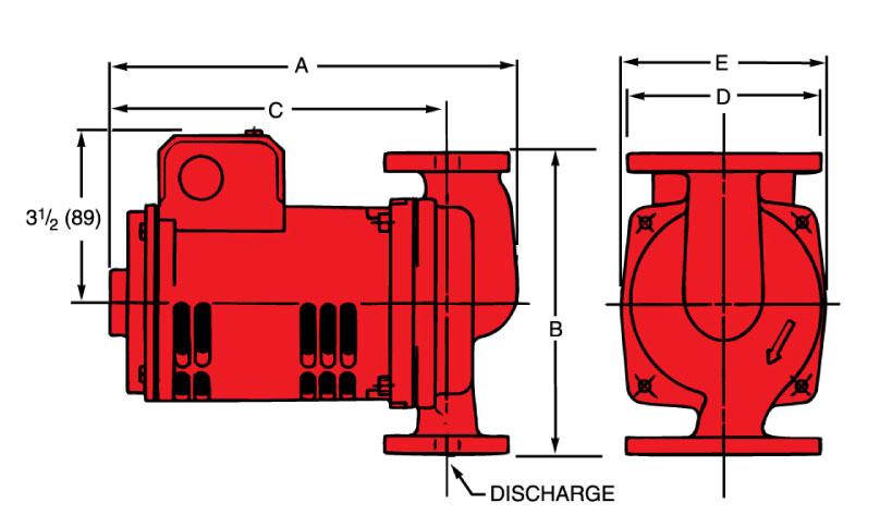 Cast Iron Booster Pump Diagram