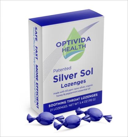 Optivida Silver Lozenges