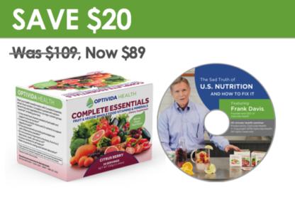 Optivida Complete Essentials - Starter Kit