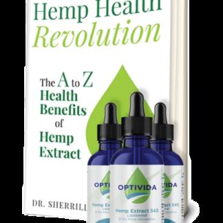 Hemp extract pain 90 bundle with Hemp Health Revolution book